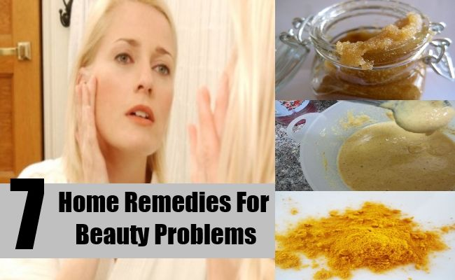 Simple Home Remedies For Beauty problems