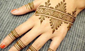 Arabic Style Mehndi Designs
