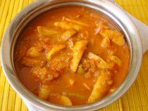 Arbi or Taro root Masala Vrat Recipe for you!