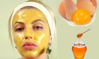 DIY Homemade Egg Deep Peel Off Face Mask